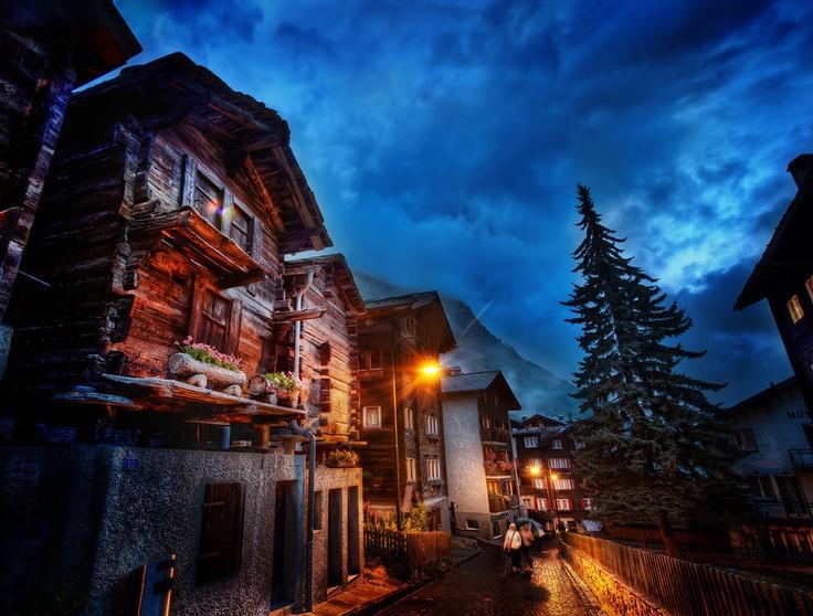 The Streets of Zermatt