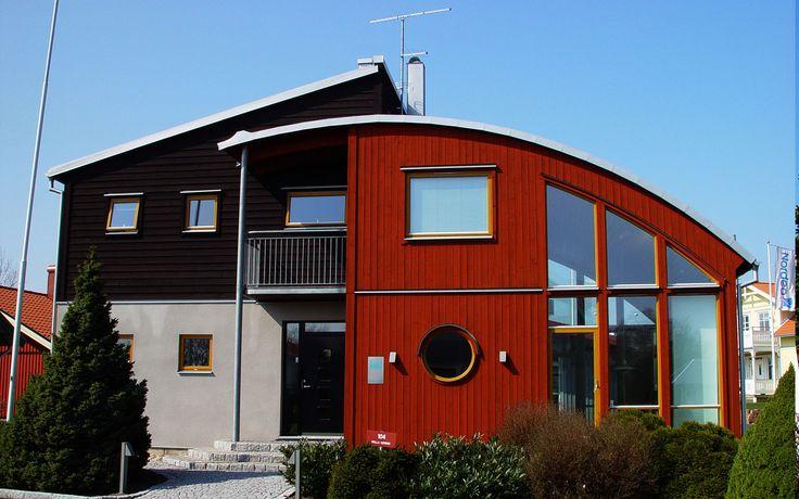 """Modernt hus A1507  """"Alla familjer är olika – därför är varje Willa Nordic unikt!"""" www.willanordic.se"""