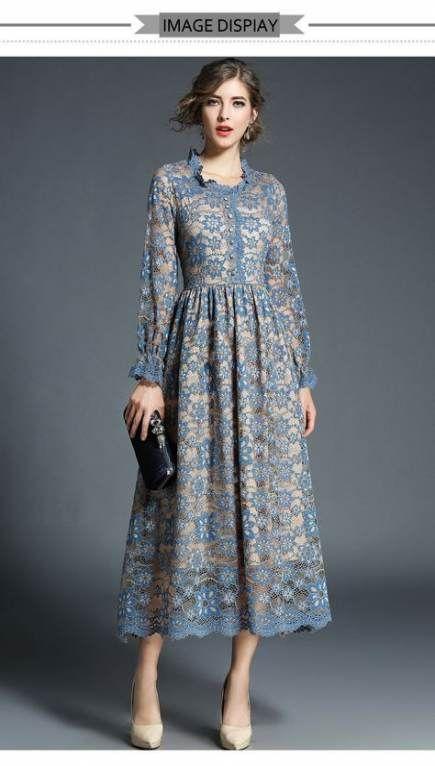 15+ ideas moda vestidos largos casuales