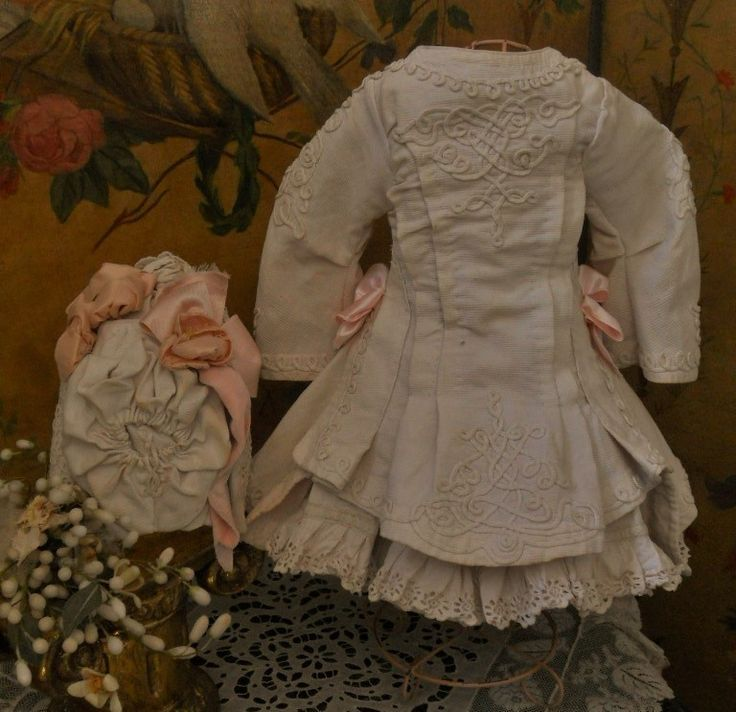 ~~~ Fantastic French Three Piece Pique Bebe Costume ~~~ from whendreamscometrue on Ruby Lane