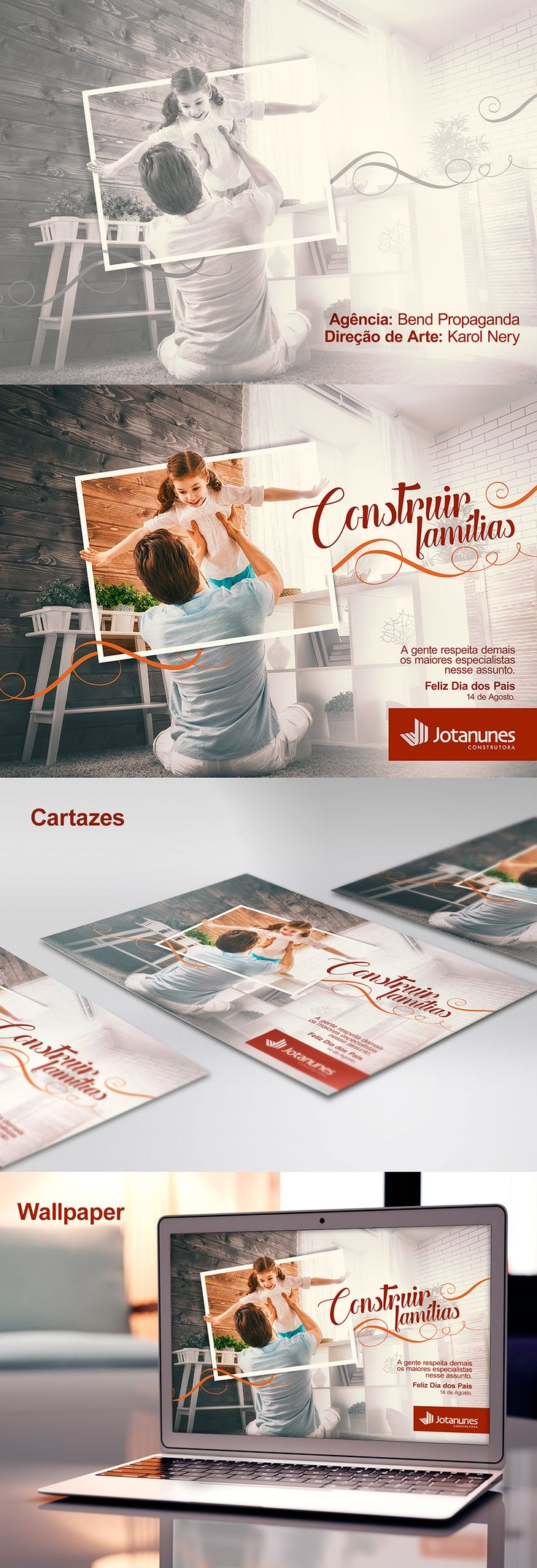 Dia dos Pais - Jotanunes on Behance