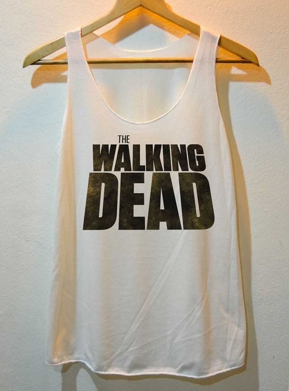 The Walking Dead Pop Rock Shirt Tank Top @Julianne M. Hirsch this is for you!!!