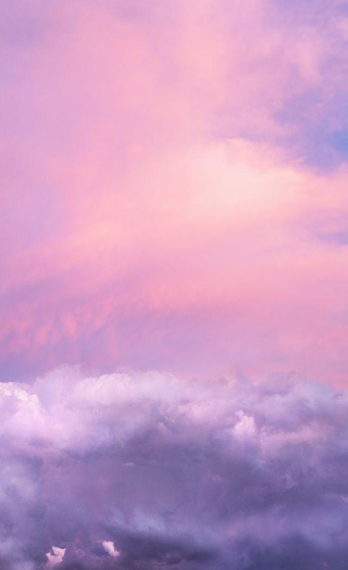 Sunset And Clouds Blush Pink Unicorn Sky Window Curtains