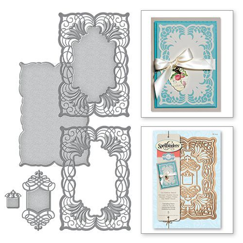 Spellbinders Dies, with FREE DELIVERY!  Spellbinders is proud to offer the latest designs from the Amazing Paper Grace collection by Becca Feeken This new line is royally beautiful and