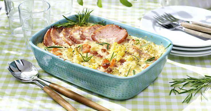 Ät supergott i skördesäsong! Laga mumsig blomkålsgratäng med motrötter från Ulrikas hälsokök. Smaksätt med senap, örter och toppa med riven ost.
