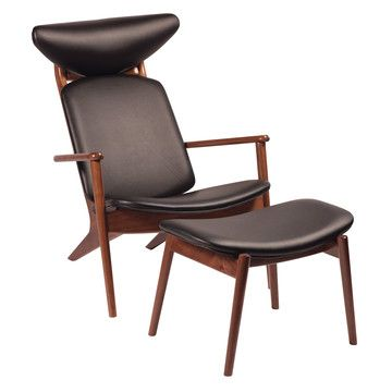Love this! - Granny Lounge Chair With Stool, £575, now featured on Fab.