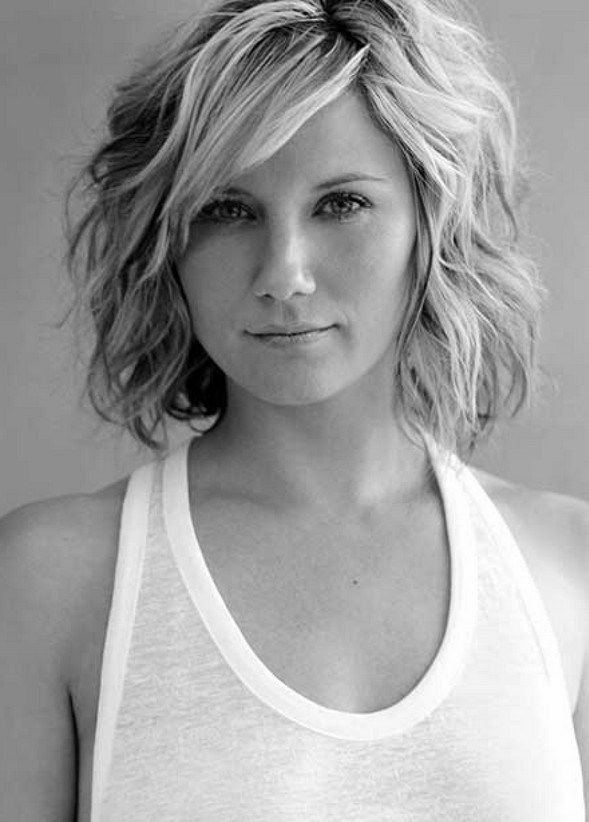 Curly Hair Styles With A Fringe : Best 20 bob hairstyles with bangs ideas on pinterest short bob
