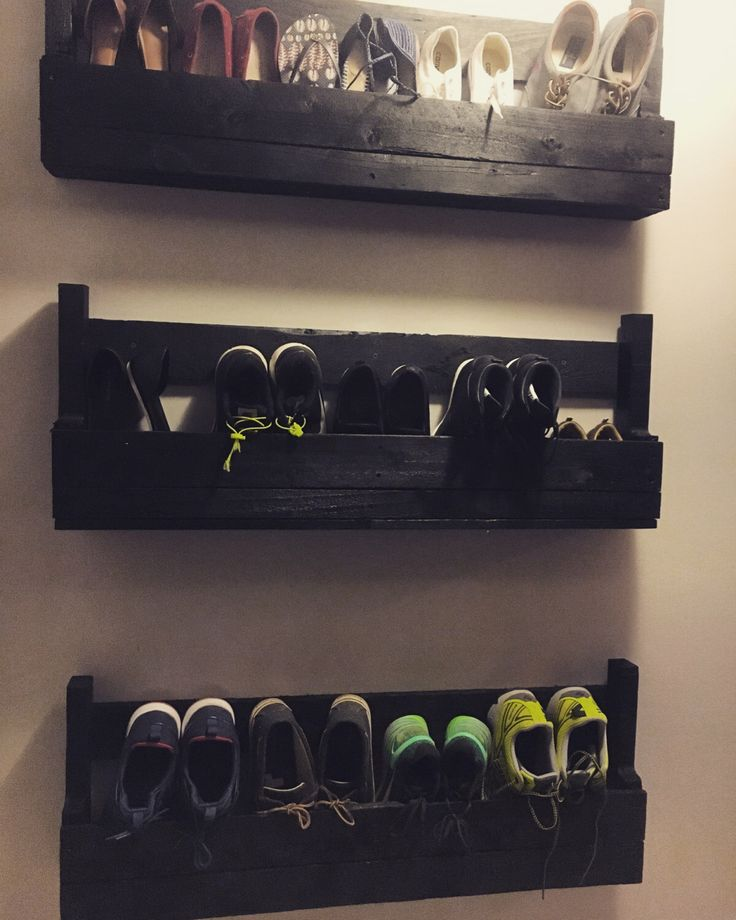 21 Amazing Shelf Rack Ideas For Your Home: Best 25+ Wall Shoe Rack Ideas On Pinterest
