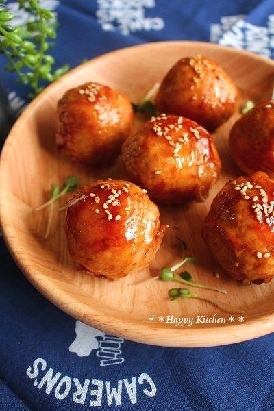 豚肉で*生姜と柚子胡椒香るチーズイン肉巻きおにぎり by たっきーママ ...
