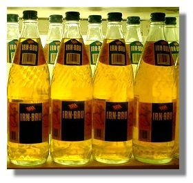 Irn-Bru Bottles: Glass Cheques! we used to collect these and get the 10p deposit when returned to the ice cream van, spend it on sweeties... happy days