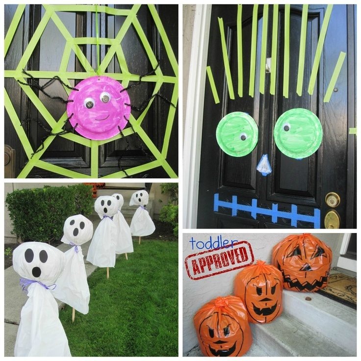 diy halloween decorations easy to make and so fun for kids - Unusual Halloween Decorations