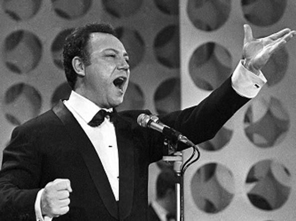 Claudio Villa (1926-1987) al Festival di Sanremo