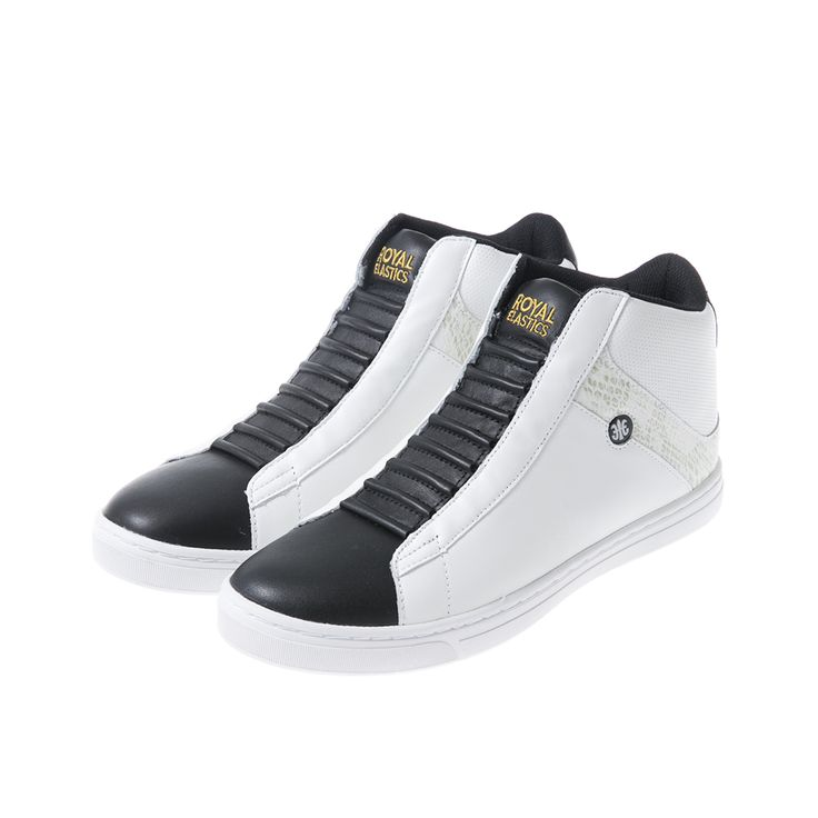 ROYAL ELASTICS Duke Hi BW #sneakers #Hightop #menshoes kicks shoes footwear  fashion casual
