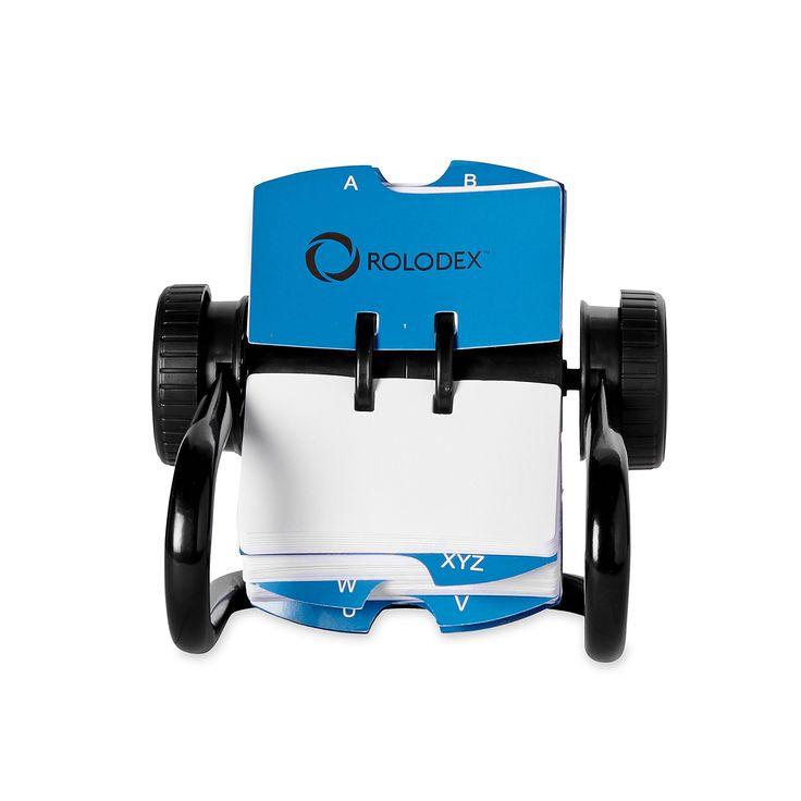 Robot Check Card Sleeve Rolodex Card Files