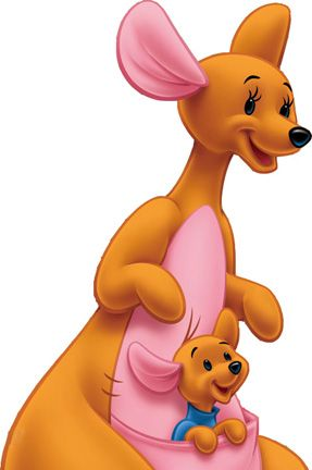 Kanga and Roo from Winnie the Pooh