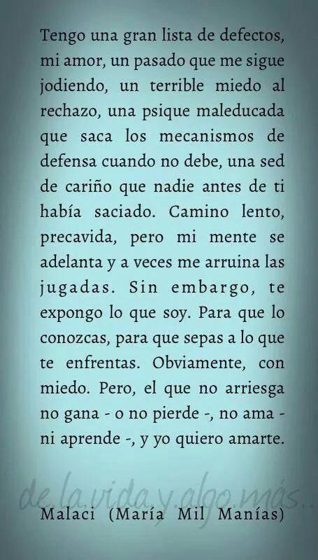 Más reflexiones en nuestra web #loveit #amantedeletras #amore #reflexiones #letrasypoesia #poemas #carpediem #feliz