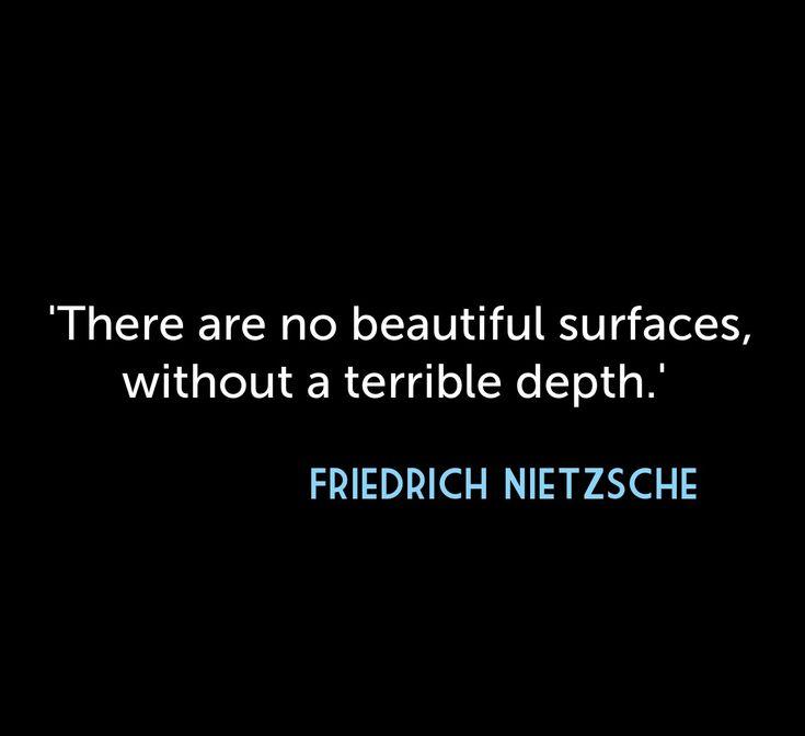 Lo dijo Nietzsche. #nietzsche #quote #life