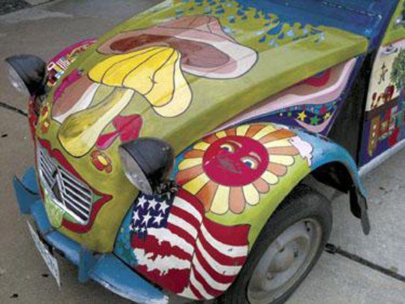 Art Car Found Hidden In Garage After 40 Years!!