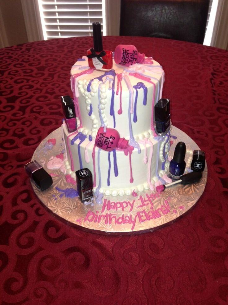 nail polish cakes