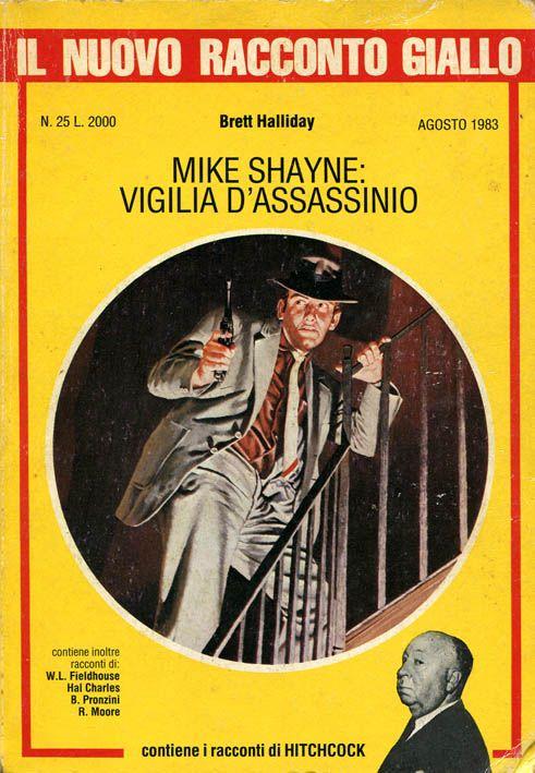 """""""Il Nuovo Racconto Giallo"""" n. 25 (agosto 1983) Editoriale Corno Cover di Loris Bonavoglia"""