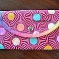 Pour Catherine (et les autres), voici un tuto pour la fabrication d'un portefeuille.   Et le voilà ... terminé !  ...