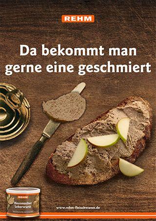 Rehm Fleischwaren Plakat-Kampagne