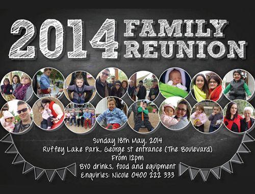25+ Family Reunion Invitation Templates - Free PSD Invitations Download