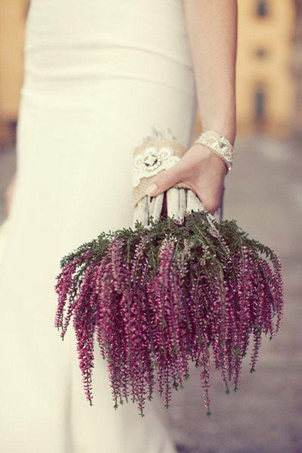Un ramos de novia de otoño muy especial. Flechazo Innovias- Más