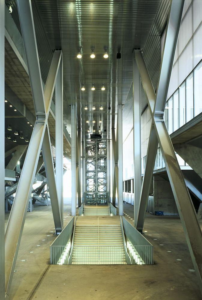 Olympic Tennis Centre, Madrid Spain   Dominique Perrault Architecture