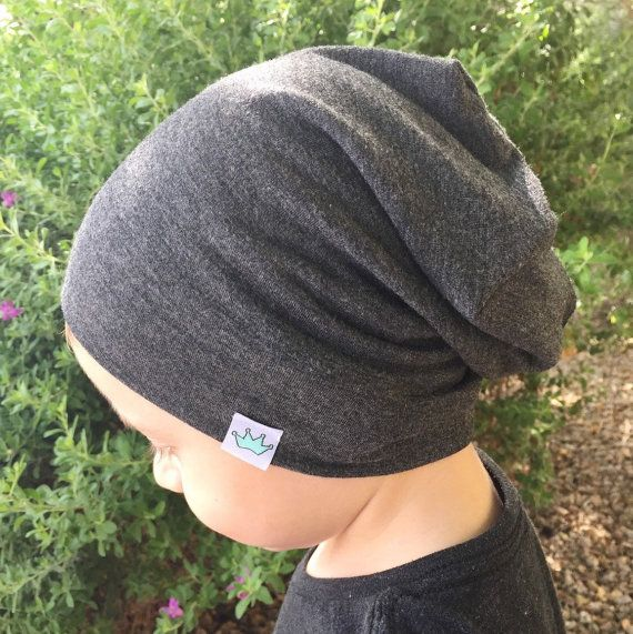 Baby slouchy beanie/ Toddler boy slouch by PoshKiddosapparel