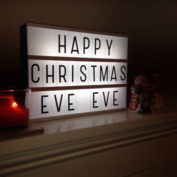 Happy christmas eve eve lightbox pinterest christmas eve christmas and happy - Lightbox weihnachten ...