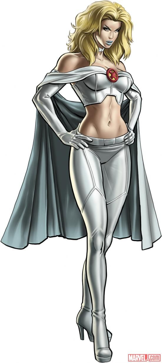 "Emma Frost in ""Marvel: Avengers Alliance"" (Playdom 2012)"