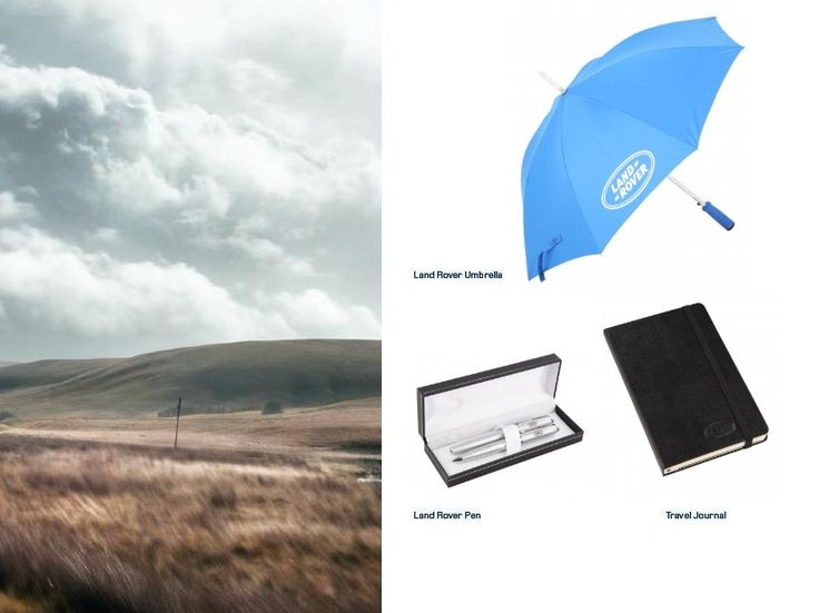 Land Rover Lifestyle #Umbrella, #Pen and #Journal www.landroverlifestyle.co.za