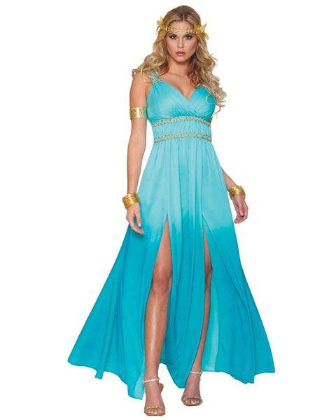 Women's Aphrodite Costume | Wholesale Greek/Roman Halloween Costume for Women (Jeanne)