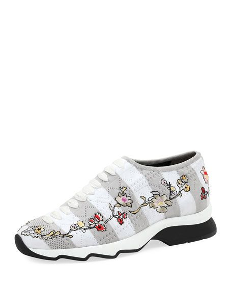 ab017442 Embroidered Sock Sneaker | SNEAKERS | Sneakers, Fendi, Shoe sale