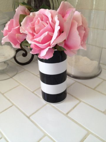 Black & White Vase - going to paint this next time I'm doing ceramics
