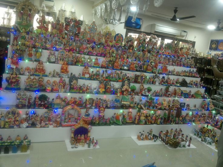 NAVARATRI 2014 GOLU PADI DISPLAY @ GIRI THIRUVANMIYUR BRANCH