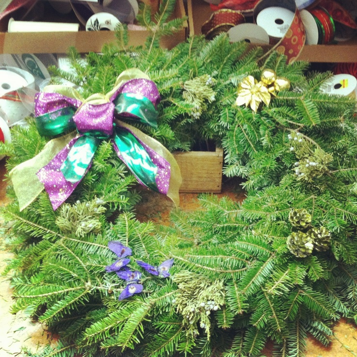 Crescent City Christmas Wreath | Christmas Time | Pinterest