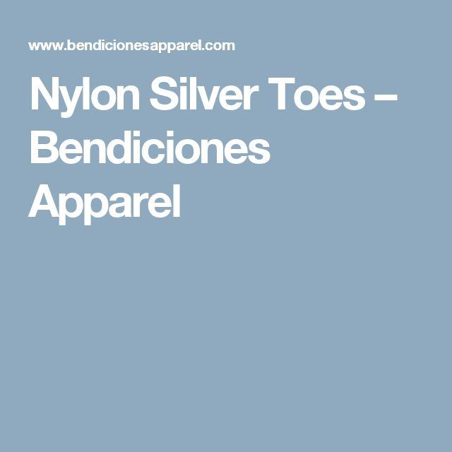 Nylon Silver Toes – Bendiciones Apparel