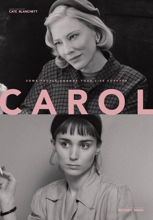 Cate Blanchett and Rooney Mara. Todd Haynes's Carol (2015).