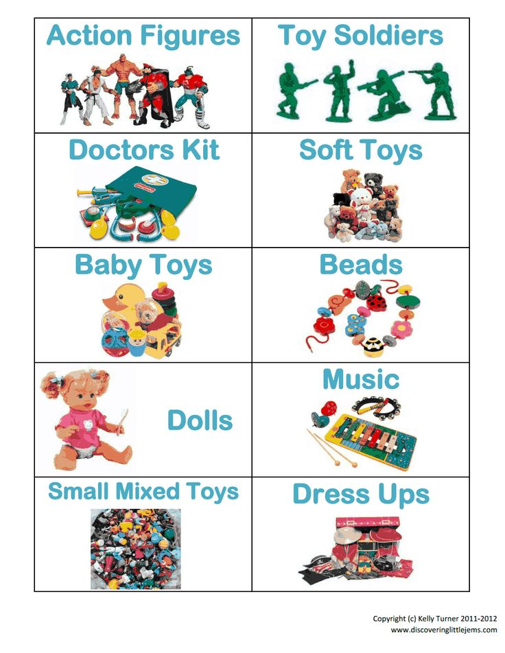 Boy Toys Template : Toy storage labels c pdf stuff to print pinterest