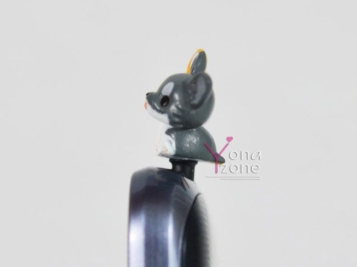 Precioso 3,5 mm Cachorro teléfono móvil Oreja PAC Lindo Perrito anti-polvo Jack Plug