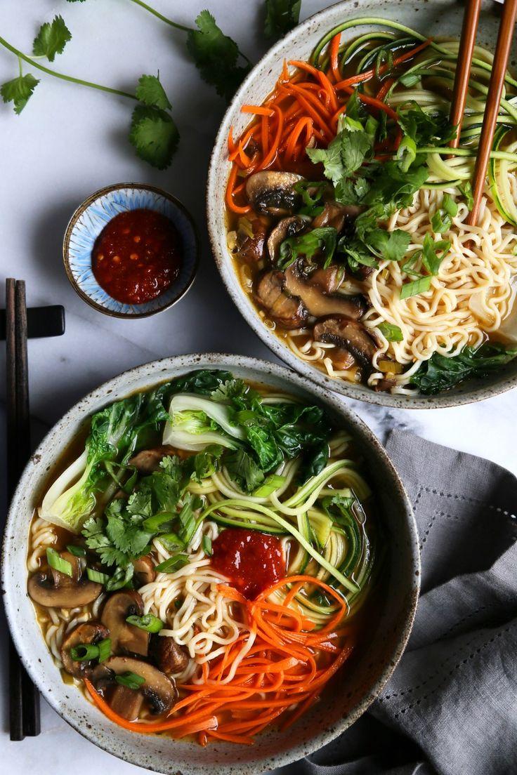 Vegetable Ramen Noodle Soup