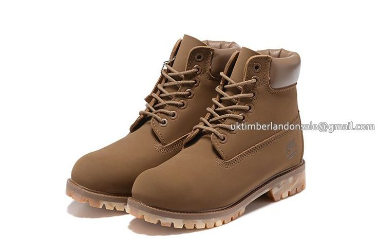 New Timberland Boots For Kids 6 Inch - Light Tan Camo $ 65.00