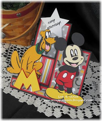 ADORABLE Disney cards made with your Cricut