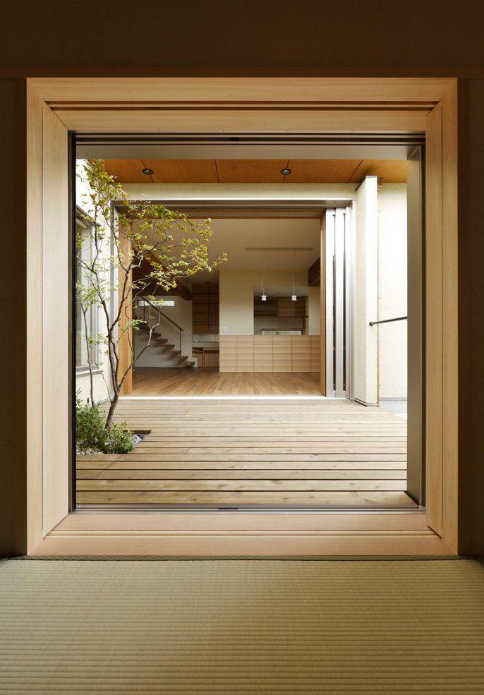View Thru: Doors, Ideas, Architecture Girl, Interiors Spaces, Japanese House, Design