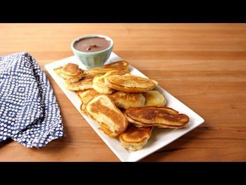 Banana pancake dippers recipe pancakes bananas and recipes ccuart Gallery