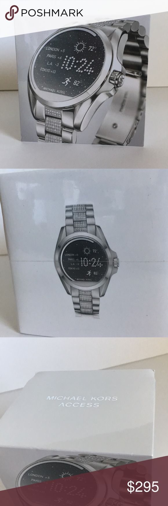 Michael kors smart watch New! Still sealed! Compatible with android and iPhone Michael Kors Accessories Watches