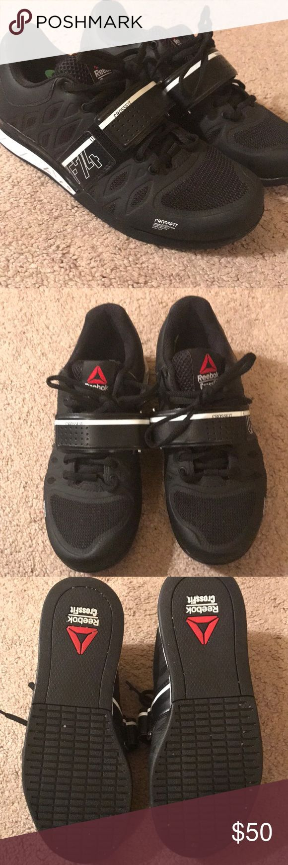 Reebok Crossfit Lifting Shoe - Black Reebok Crossfit Lifting Shoe - Black. Size 7. Gently Worn (2-3 times). No Scuffs. Reebok Shoes Sneakers
