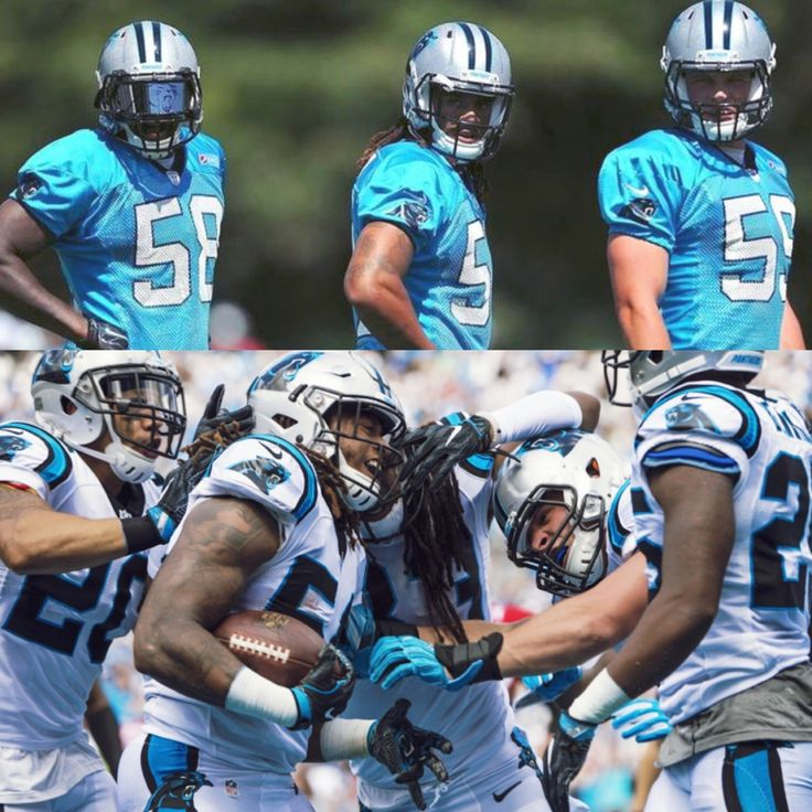 Luke Kuechly, Thomas Davis, and Shaq Thompson  Best trio of LBs in the game this will be the Panthers Comeback Season:)